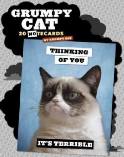 Grumpy Cat Notecards: 20 Notecards & Envelopes (Cards)