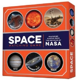 Space Matching Game: Featuring Photos from the Archives of Nasa (Game)