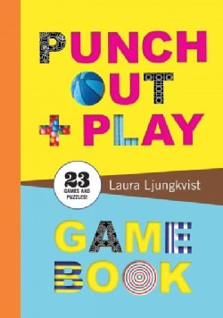 Punch Out + Play Game Book: 23 Games and Puzzles! (Paperback)