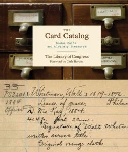 The Card Catalog: Books, Cards, and Literary Treasures (Hardcover)