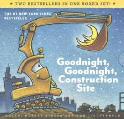Goodnight, Goodnight, Construction Site / Steam Train, Dream Train (Board book)