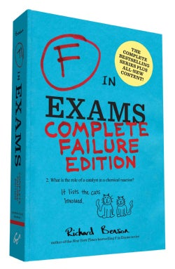 F in Exams: Complete Failure Edition (Paperback)