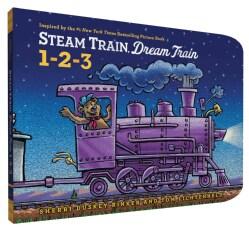 Steam Train, Dream Train 1-2-3 (Board book)