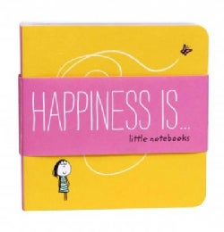 Happiness Is Little Notebooks (Notebook / blank book)