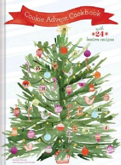 Cookie Advent Cookbook: With 24 Festive Recipes (Hardcover)