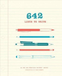 642 Lists to Write (Record book)