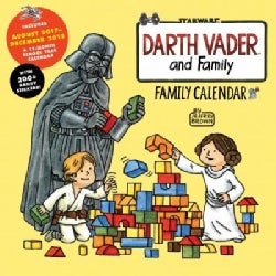 Darth Vader and Family 17-Month 2018 Family Calendar (Calendar)
