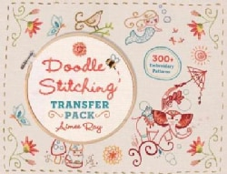 Doodle Stitching Transfer Pack: 300+ Embroidery Patterns (Paperback)