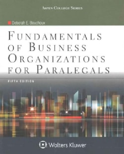 Fundamentals of Business Organizations for Paralegals (Paperback)