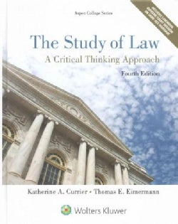 The Study of Law: A Critical Thinking Approach (Hardcover)