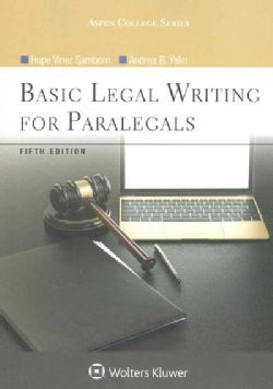 Basic Legal Writing for Paralegals (Paperback)