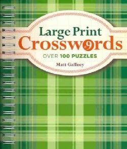 Large Print Crosswords (Paperback)