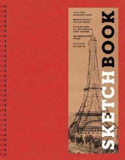 Sketchbook, Basic Large Spiral Red (Notebook / blank book)