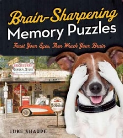 Brain-sharpening Memory Puzzles: Test Your Recall With 80 Photo Games (Paperback)