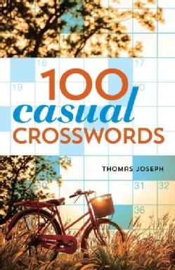 100 Casual Crosswords (Paperback)