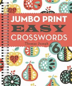 Jumbo Print Easy Crosswords (Paperback)