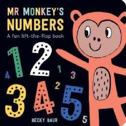 Mr. Monkey's Numbers (Board book)