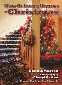 New Orleans Homes at Christmas (Hardcover)
