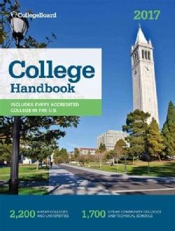 College Handbook 2017 (Paperback)