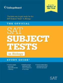The Official SAT Subject Test Biology (Paperback)