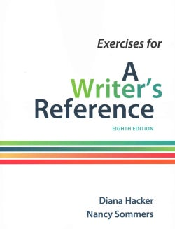 Exercises for a Writer's Reference (Paperback)