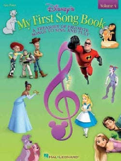 Disney's My First Songbook: A Treasury of Favorite Songs to Sing and Play: Easy Piano (Paperback)