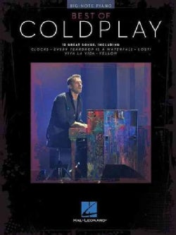 Best of Coldplay: Big-note Piano (Paperback)