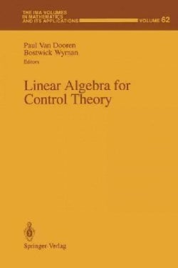 Linear Algebra for Control Theory (Paperback)