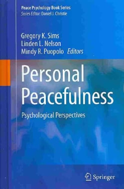 Personal Peacefulness: Psychological Perspectives (Hardcover)