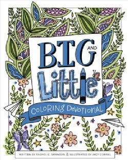 Big and Little Coloring Devotional (Paperback)