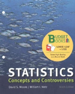 Statistics: Concepts and Controversies (Loose-leaf)