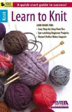 Learn to Knit (Paperback)