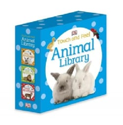 Animal Library (Board book)