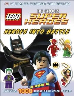 Lego Dc Comiccs Super Heroes: Heroes into Battle (Paperback)