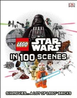 Lego Star Wars in 100 Scenes (Hardcover)