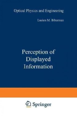 Perception of Displayed Information (Paperback)