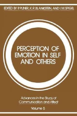 Perception of Emotion in Self and Others (Paperback)