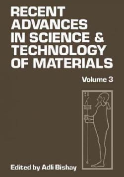 Recent Advances in Science and Technology of Materials (Paperback)