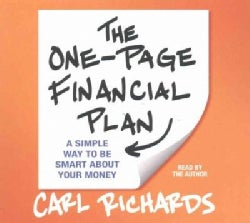 The One-Page Financial Plan: A Simple Way to Be Smart About Your Money (CD-Audio)