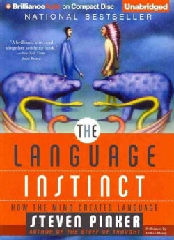The Language Instinct: How the Mind Creates Language (CD-Audio)