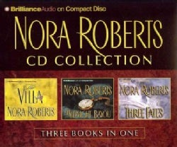 Nora Roberts CD Collection 1: The Villa / Midnight Bayou / Three Fates (CD-Audio)