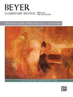 Elementary Method for the Piano, Opus 101 (Paperback)