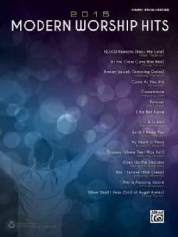 Modern Worship Hits 2015: Piano/Vocal/guitar (Paperback)