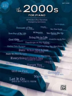 Greatest Hits the 2000s for Piano: 40 Modern Pop Favorites: Easy Piano (Paperback)
