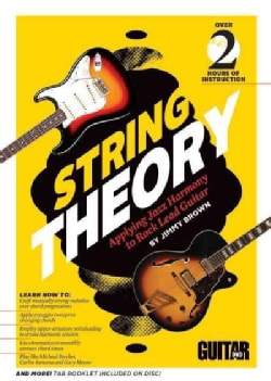 String Theory: Applying Jazz Harmony to Rock Lead Guitar (DVD video)