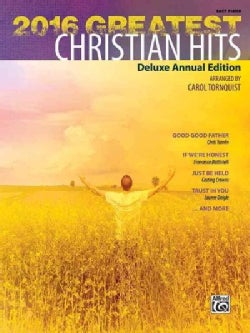 2016 Greatest Christian Hits: Easy Piano (Paperback)