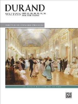 Waltzes, Opp. 83, 86, 88, 90, 91, 96: For the Piano (Paperback)