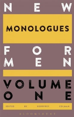 New Monologues for Men (Paperback)