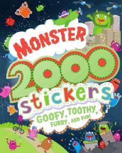 Monster 2000 Stickers: Goofy, Toothy, Furry, and Fun! (Paperback)
