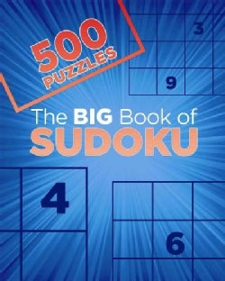 The Big Book of Sudoku: 500 Puzzles (Paperback)
